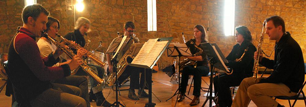 Saxophoniker Header Bachsax II