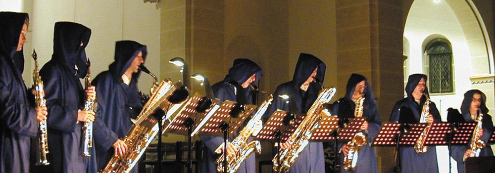 Saxophoniker Header Gloriasax