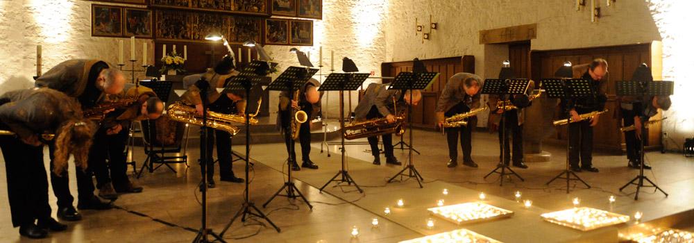 Saxophoniker Header Danksagungen