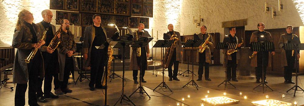 Saxophoniker Header Stücke
