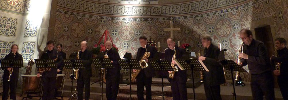 Saxophoniker Header Termine