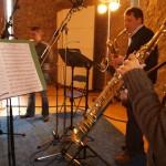 Westfälische Saxophoniker CD-Aufnahme Seraphimsax