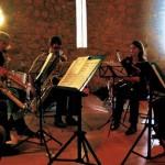Westfälische Saxophoniker CD-Aufnahme Bachsax