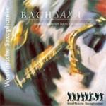 Westfälische Saxophoniker CD-Cover Bachsax I