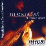 Westfälische Saxophoniker CD-Cover Gloriasax