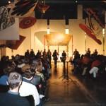 Saxophoniker bespielte Kirchen, Detmold: Art-Kite-Museum