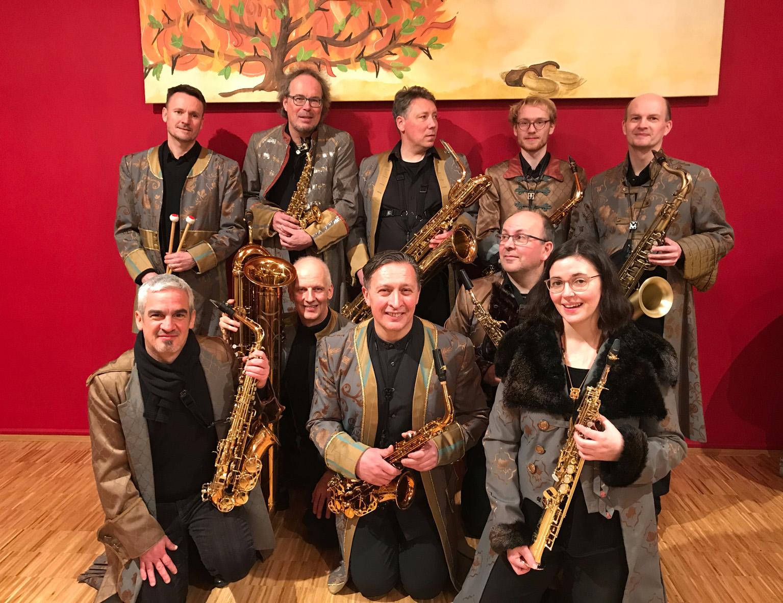 Saxophoniker Pressefoto 2020